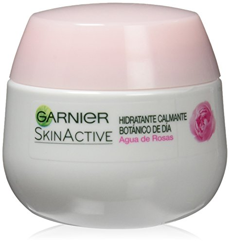 Garnier huid Active Crema Calmante con Agua de Rosas, piel zinvol, 50 ml