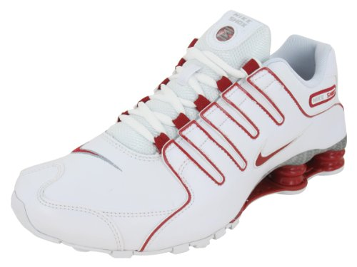 Top Mens Nike Shox NZ EU Running Shoes White   Gym Red   Neutral Grey  325201-127 Size 10 With Secure Transaction c83a6c7b6
