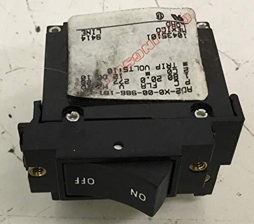 Precor Circuit Breaker & Relay Switch Power On Off AD2-X0-00-986-181-C Works M9.1 C932 M9.3X Treadmill