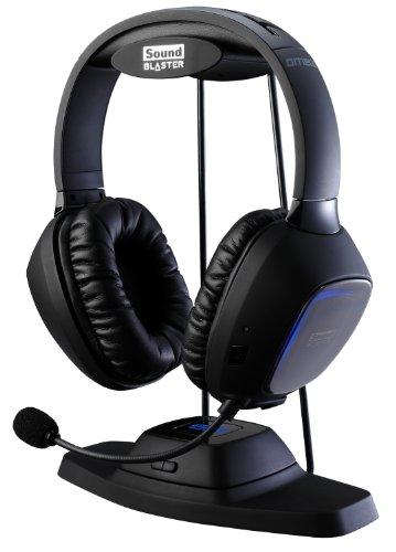 Creative Sound Blaster ワイヤレス ゲーミング ヘッドセット Tactic 3D Omega Wireless HS-SBT3D-OMG