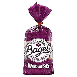 Warburtons Bagels Cinnamon & Raisin, Pack of 5
