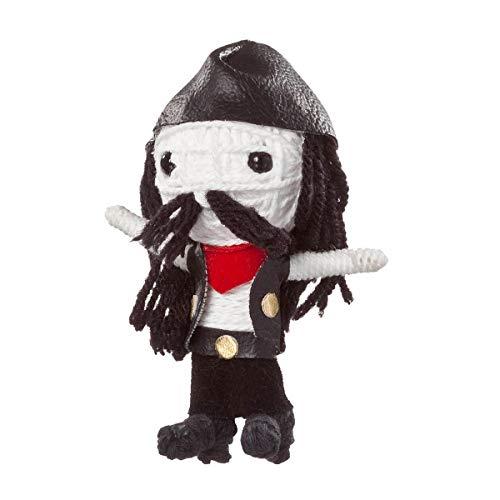 Voomates String Doll Voodoo-Puppen - handgemachte Sorgen-Püppchen Fingerpuppen - Die Handpuppen mit 81 Modelle - Rowdy The Rocker