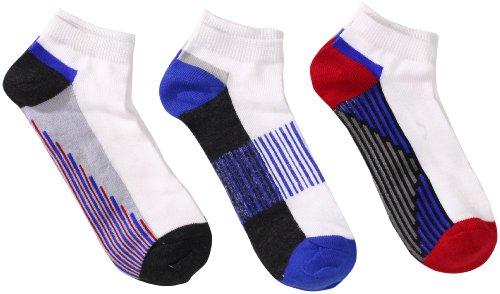 Jefferies Socks Große Jungen Sportliche Low Cut Socken (6er Pack) - - Large