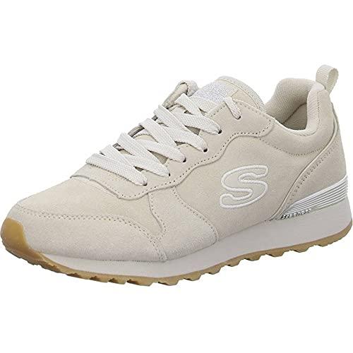 Skechers Zapatillas para Mujer 155286-OFWT_39, Beige, UE