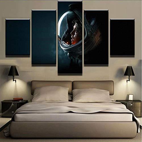 GMSM Cuadro En Lienzo, Imagen Impresión, Pintura Decoración, Canvas De 5 Pieza, 100X55 Cm El rol de película de la película Ripley Mural Moderno Decor Hogareña