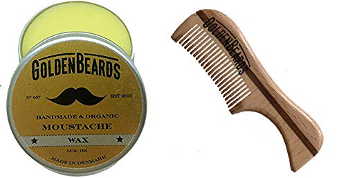 Cera bigote peine madera ecológica T- Obtén