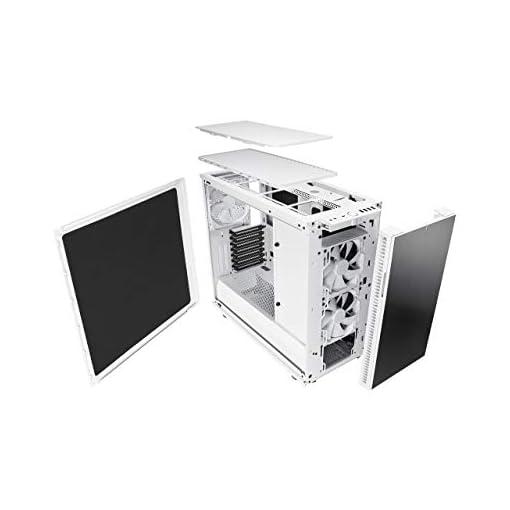 Fractal Design Define R6 USB-C Escritorio Blanco - Caja de ordenador (Escritorio, PC, Aluminio, Acero, Blanco, ATX,EATX… 7
