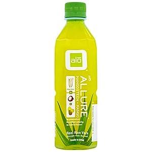 ALO Allure Aloe Vera Juice Drink, Mangosteen Plus Mango, 16.9 Ounce (Pack of 1), Cane-Sugar Sweetened |