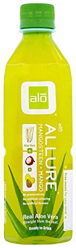 ALO Allure Aloe Vera Juice Drink, Mangosteen...