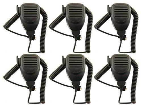 Kenwood Fist Micrófono para Taxi Radio TK752 TK852 TK759 TK859 (6-PIN) X 6