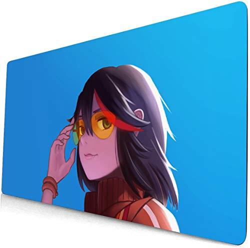 yongheng Kill La Kill Alfombrilla de ratón para ordenador portátil, gran escritorio, teclado Kill La Kill Alfombrilla de escritorio Anime Gaming Mouse pad 172 (60 x 35 cm)