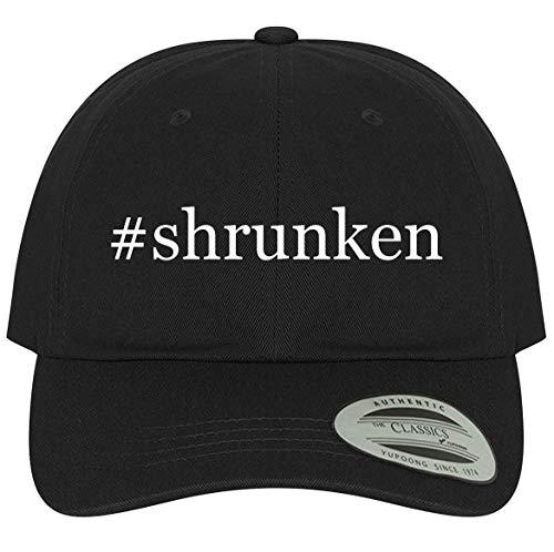 The Town Butler #Shrunken - A Comfortable Adjustable Dad Baseball Hat, Black, One Size