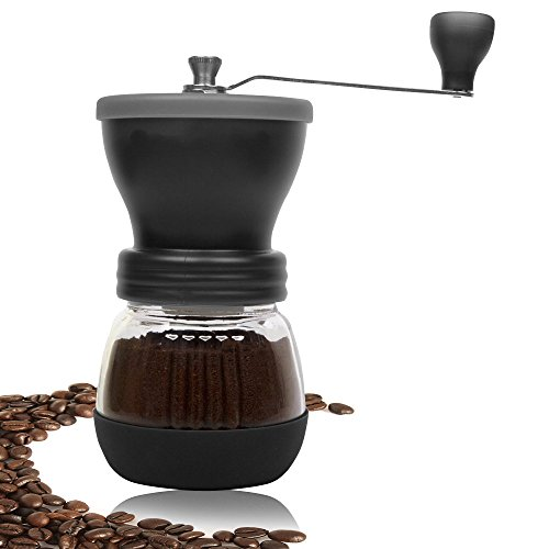 DuraCasa Manual Coffee Grinder Burr Coffee Grinder - Coffee Maker With Grinder For Espresso - Roasted Coffee Bean Grinder - Burr Grinder Coffee Mill - Best Manual Coffee Grinder Period!