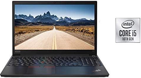 "2020 Lenovo ThinkPad E15 15.6"" FHD Full HD (1920x1080) Business Laptop (Intel 10th Quad Core i5-10210U, 8GB DDR4 RAM, 256GB PCIe SSD) Type-C, HDMI, Windows 10 Pro IST Computers WeeklyReviewer"