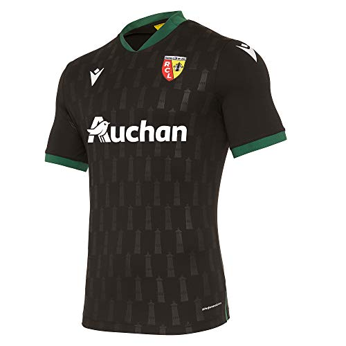 Macron Lens M20 Matchday Auth. Away Shirt Ss Sr Trikot Away Lens 2020/21 Herren L Schwarz