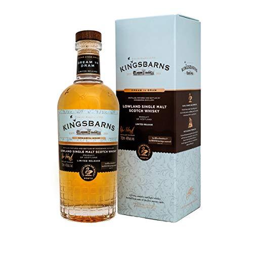 Kingsbarns DREAM TO DRAM Lowland Single Malt Scotch Whisky 46% Volume 0,7l in Geschenkbox Whisky