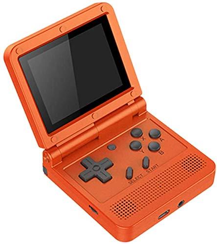 Consola De Juegos Portátil Retro de 3.0 Pulgadas, Retro Mini Game Player con 2000 Classic Handheld Games, Batería Recargable de 1020 mAh, Regalo para Niños y Adultos,Red