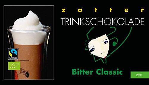 Zotter Trinkschokolade Bitter Classic 5 x 22 g
