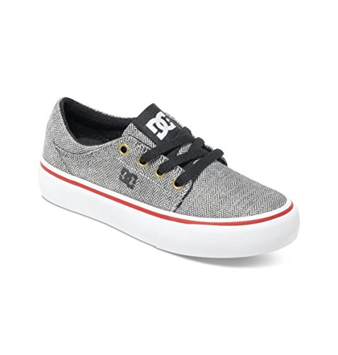 DC Shoes Trase Tx Se, Unisex Baby Krabbelschuhe, Grau (black/wash), 38 EU (5.5 UK)