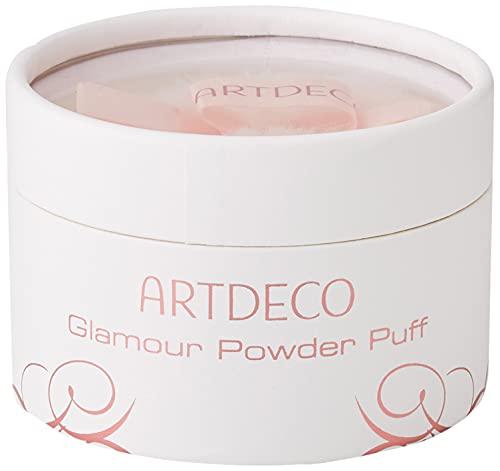ARTDECO Glamour Powder Puff, Puderquaste mit schimmernden Glitzer-Puder