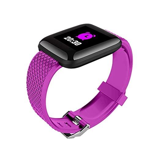 ZXTYJ Rastreador de ejercicios Pulsera inteligente Rastreador de actividades Banda deportiva Pulsera Bluetooth Reloj de ejercicios con monitor de sueño a prueba de ritmo cardíaco Podómetro Contador de