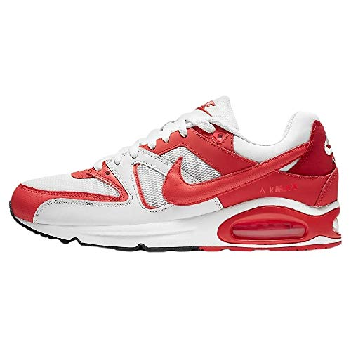 Nike Air MAX Command Men's Shoe, Zapatillas para Correr Hombre, Platinum Tint/Track Red/Gym Red, 42.5 EU