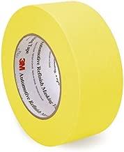 3M 06656 48 mm x 55 m Automotive Refinish Masking Tape, White