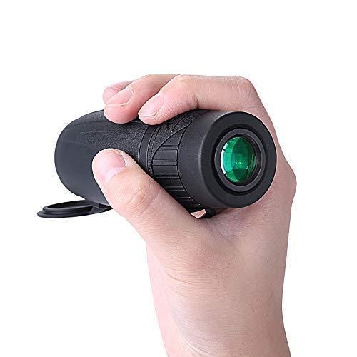 Telescopio Monocular 8X25,Eyeskey Mini HD Telescopio Compacto Impermeable y Antivaho Monoculares de Largo Alcance para Observación de Aves,Caza,Camping, Senderismo y ect