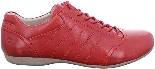 Josef Seibel Fiona 61 Sneaker in Übergrößen Rot 87261 971 396 große Damenschuhe, Größe:43