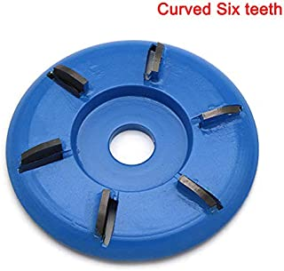 Tenrry Wood Turbo Carving Disc Tool Milling Cutter Tools for Angle Grinder