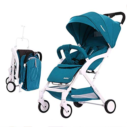GFF Pull Rod Type Baby Stroller Ultra Lightweight Compact, One-Hand Easy Fold, Best Used for Airplane & Car Travel