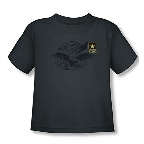 Army - - T-shirt Coffre enfant Gauche, 2T, Charcoal