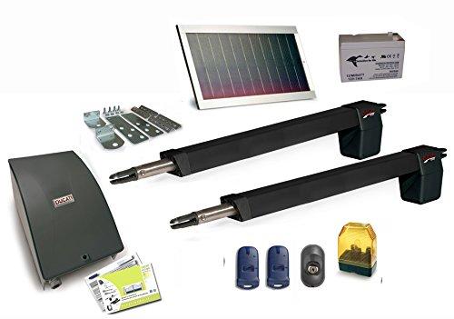 motorización para puerta batiente 2 hoja HC812-300 solar