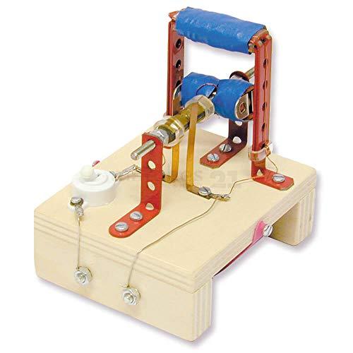 matches21 Elektromotor Modell mit Elektromagnet Bausatz f. Kinder Werkset Bastelset ab 13 Jahren