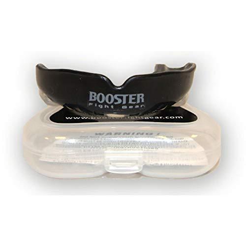 Booster Zahnschutz MG Pro - Schwarz - Mundschutz für Erwachsene - Ideal für Kampfsport MMA Boxen Kickboxen Muay Thai Grappling