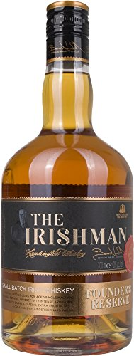 Irishman Founder's Reserve Small Batch Irish Whiskey mit Geschenkverpackung (1 x 0.7 l)