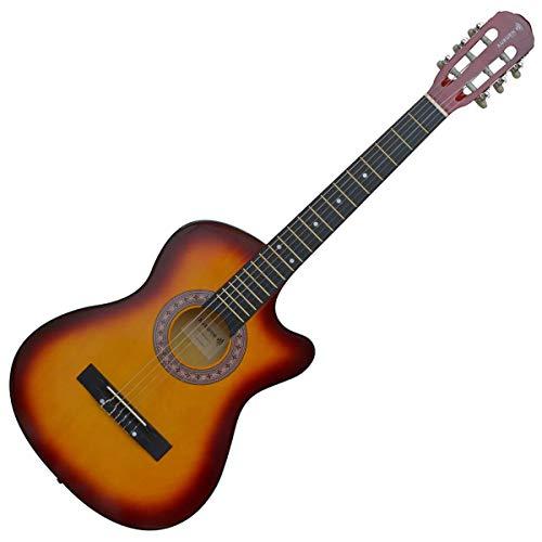 Violão Acústico Cutway Auburn Music AUBVO623 Nylon Sunburst