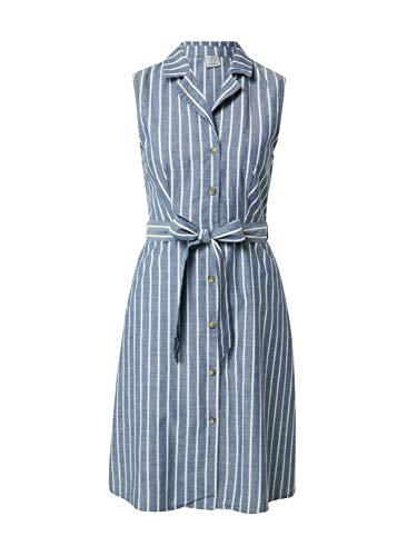 VERO MODA Damen VMSANDY SL Button Short Dress GA Kleid, Night Sky, M