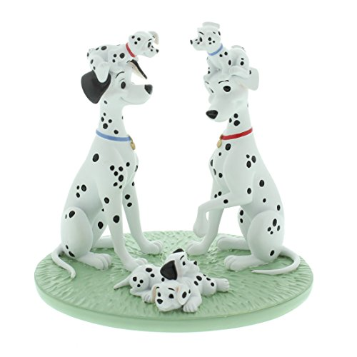 Disney Magical Moments - 101 Dalmatians One Big Happy Family Keepsake Figurine by Disney