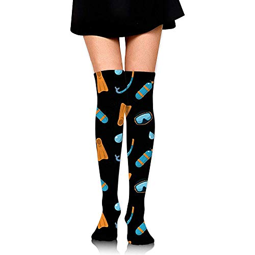 WlyFK sokken dames 'S Over Knee High Stockings 60 cm duikbril Long tube sokken