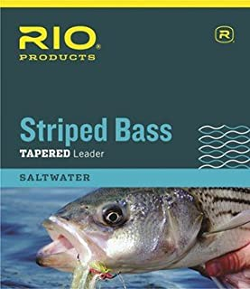 Rio Striped Bass Leader 7ft, 3 Pack