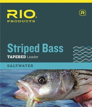 Rio Striped Bass Leader 7ft, 3 Pack (7FT - 20LB - 3PK)