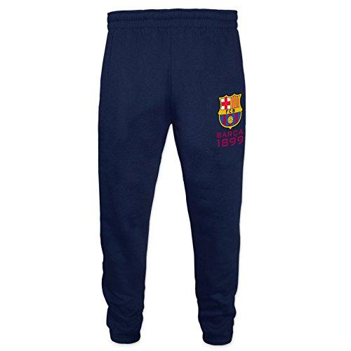 FC Barcelona - Jungen Jogginghose Slim Fit - Offizielles Merchandise - Geschenk für Fußballfans - 8-9 Jahre
