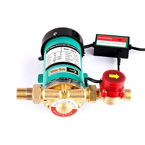 SHYLIYU 230V 90W Druckerhöhungspumpe Wasserpumpe Hauswasserwerk Automatisch/manuell Haushalt Booster Pumpe Heizungspumpe für Haus und Garten Wasserdruck 20L/min
