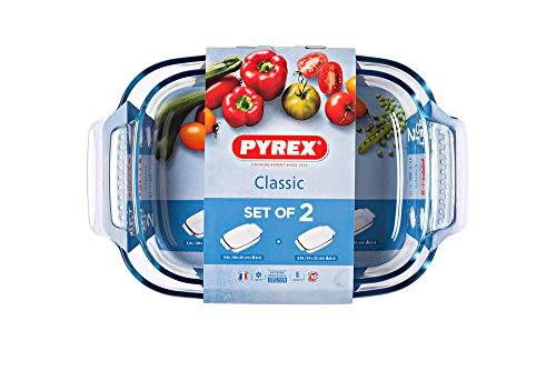 Pyrex 4937622 Classic - Fuentes para Horno, 3.6l / 2.6l