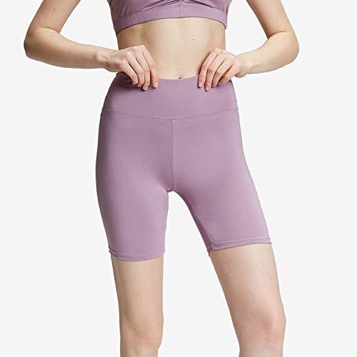 Pantalon Corto Running Fitness Shorts Pantalones Deportivos Cortos De Fitness Mallas para Mujer Elástico De Alta Cintura para Correr Gimnasio Gym C,S