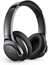 Anker Soundcore Life Q20 Bluetooth Headphones with Travel Case, Hybrid Active Noise Cancelling, 40H Playtime, Wireless Over Ear Headphones for Travel, Work (Black)