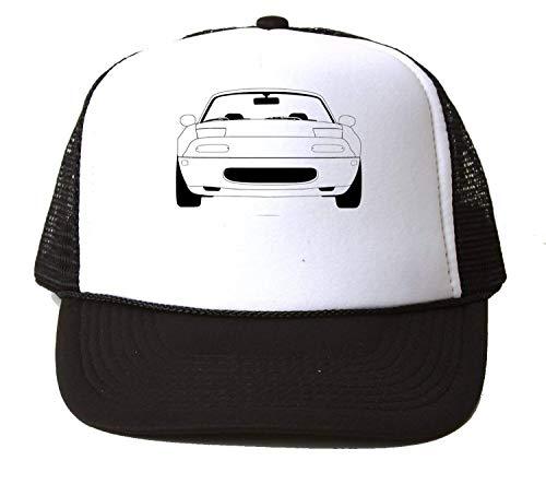 Nomorefamous Mx-5 JDM Japan Cabrio car Automotive Baseball Cap Unisex Mütze Kappe Hat One Size