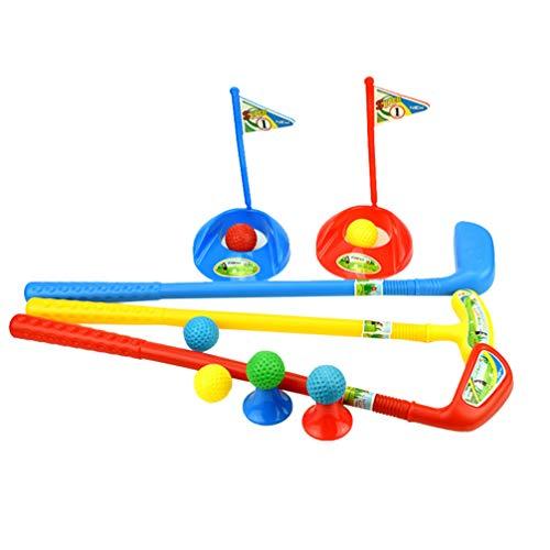 TOYANDONA Golf Speelgoed Plastic Golf Clubs Educatief Golf Sets Sport Speelgoed Ouder-Kind Buitenspeelgoed Voor Peuters Kinderen