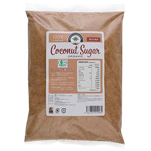 コレクション オーガニック ココナッツシュガー 低GI食品 1kg 1袋